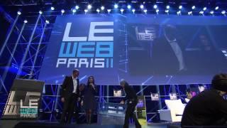 LeWeb 2011 Opening Day 1 with Geraldine & Loïc Le Meur, LeWeb Founders
