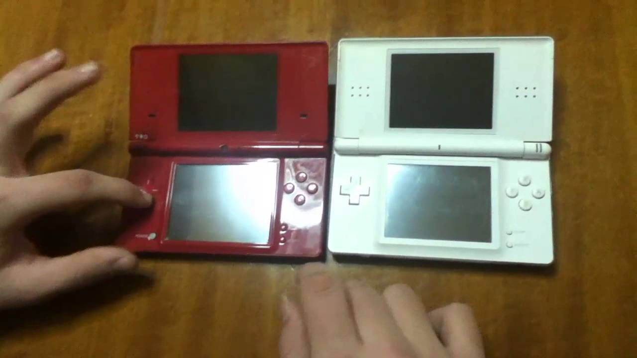 nintendo ds lite vs nidendo dsi review youtube. Black Bedroom Furniture Sets. Home Design Ideas