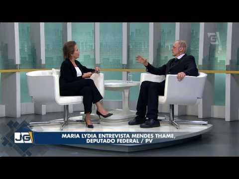 Maria Lydia entrevista Mendes Thame, deputado federal/PV