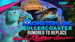 Monsters Inc Rumored To Replace Rock'N'Rollercoaster at Hollywood Studios - Disney News - 6/20/17