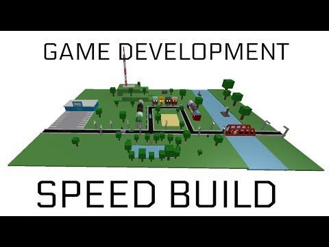 [ROBLOX] Game Development - Find the button! - Speed build - F3X