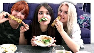 Mexikanisch Essen und meine Haarverlängerung | Mukbang