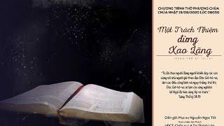 HTTL GIA ĐỊNH - Chương trình thờ phượng Chúa - 13/09/2020
