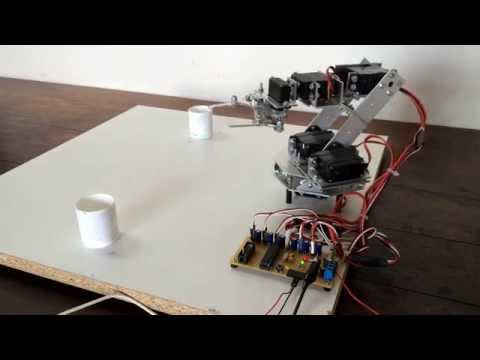 Arduino/Raspberry Pi Robotic Arm - Part 1: Unpacking and Assembling