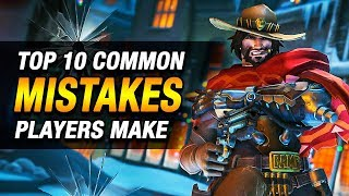 Overwatch: 10 COMMON MISTAKES Made By McCree Players