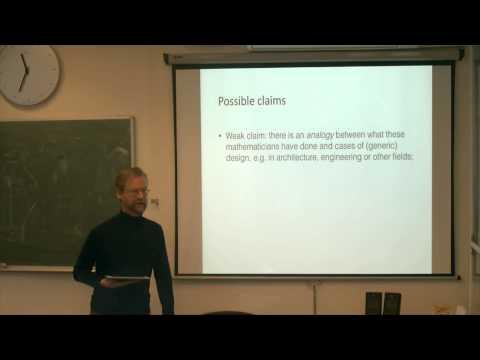Jean Pierre Marquis : Axiomatization as conceptual design