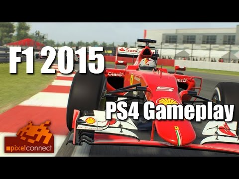 ps4 gameplay review f1 2015 lenkrad check t300rs youtube. Black Bedroom Furniture Sets. Home Design Ideas
