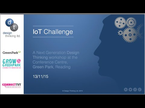 Design Thinking: Next Generation IoT Challenge (Green Park, Reading)