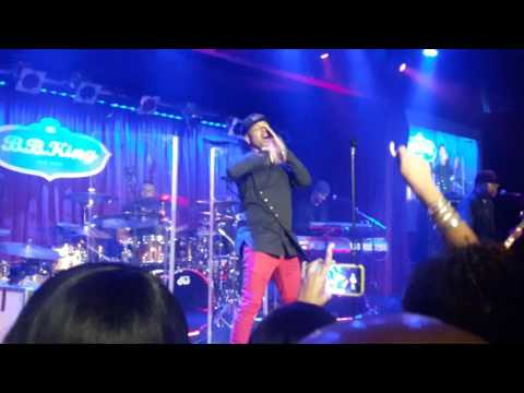 Mint Condition -  Caught My Eye with intro @BB Kings NYC 11-18-16