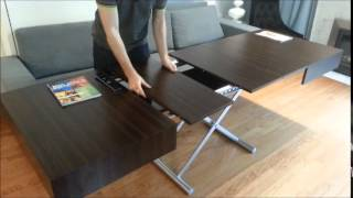 Box Coffee To Dining Table Quick Demo