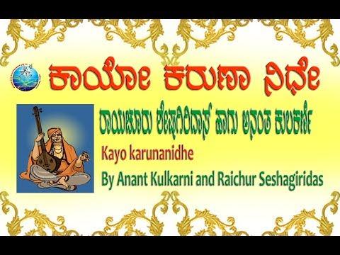 kayo karunanidhe by Raichur Sheshagiridas and Anant Kulkarni
