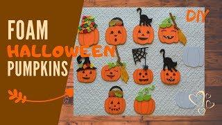 Mini Pumpkin Decoration   Halloween bunting   DIY Step by step tutorial