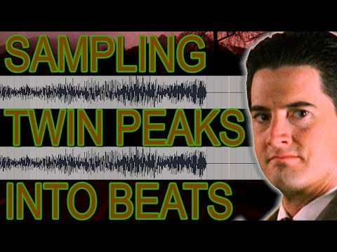 Sampling Twin Peaks Theme into LoFi Chill Beats [SONGWRITING - PRODUCTION]
