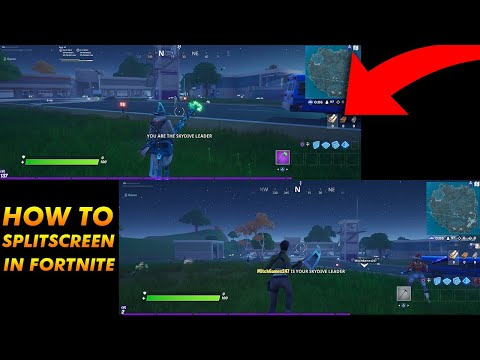 HOW TO SPLIT SCREEN IN FORTNITE! FORTNITE SPLIT-SCREEN TUTORIAL! (PS4/XBOX ONE)