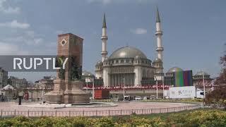 Turkey: Erdogan inaugurates mosque on Istanbul's Taksim Square