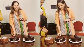 Sania Mirza Birthday Celebration With Husband | Full Video