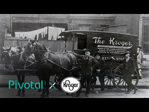 Kroger Technology Teams with Pivotal to Feed the Human Spirit
