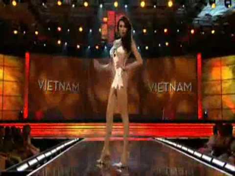 Miss Universe 2009 Presentation Show - VIETNAM (Vo Hoang Yen)