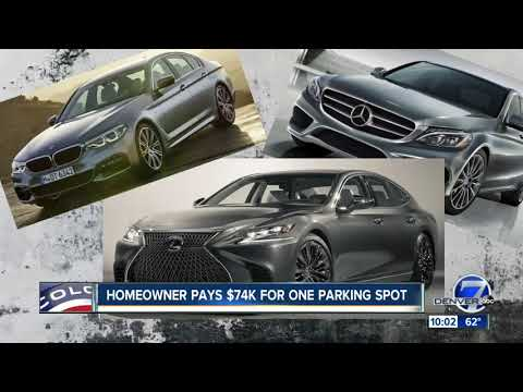 'Is it paved in gold?' Growing trend of paying tens of thousands for a parking space in Denver
