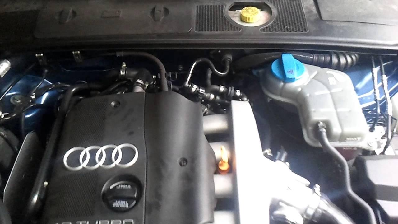 Audi A4 18t Avj Praca Silnika Youtube