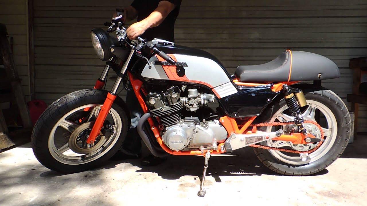 1979 honda cb750 cafe racer - youtube