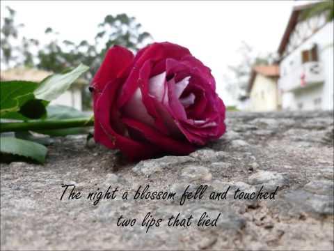 A Blossom Fell - Nat King Cole (cover by Catarina Marrese Marcato)  lyrics