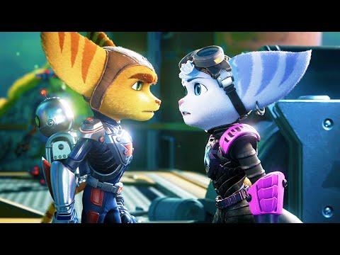 Ratchet Has a Crush on Rivet (All Scenes) – Ratchet & Clank: Rift Apart PS5 2021