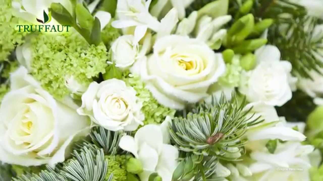 Les plus beaux bouquets de fleurs de no l jardinerie truffaut tv youtube - Photos bouquets de fleurs ...