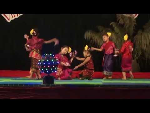 Múa Hoa Chăm Pa  Các bé lớp MGL Trường MN Pá Vạt   Điện Biên Đông