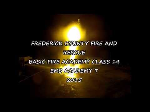 Frederick County Fire Academy #14 Graduation April 2015