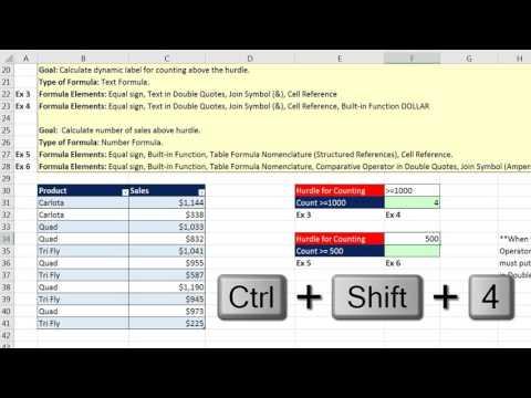 Highline Excel 2016 Class 02: Excel Fundamentals: Comprehensive Formula Lesson (15 Examples)