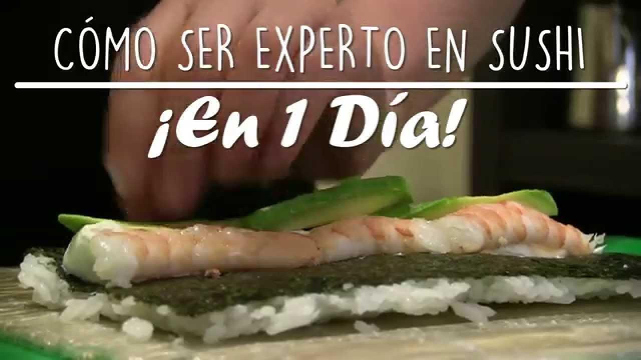 Como Preparar Sushi Facil Y Rapido Emcebar Cursos