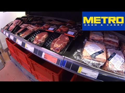 Обзор цен на продукты в Калининграде. Супермаркет METRO