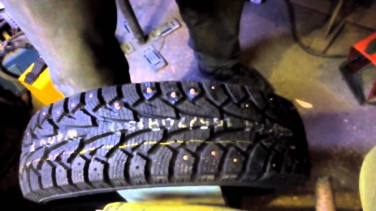 инструкция станка для шипования шин