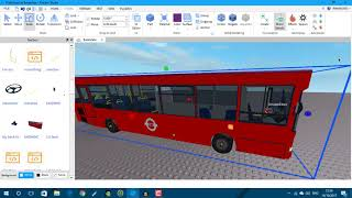 How to make/edit a bus on roblox studio.