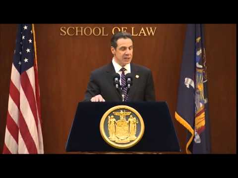 Governor Cuomo Discusses Ethics Reform at NYU School of Law