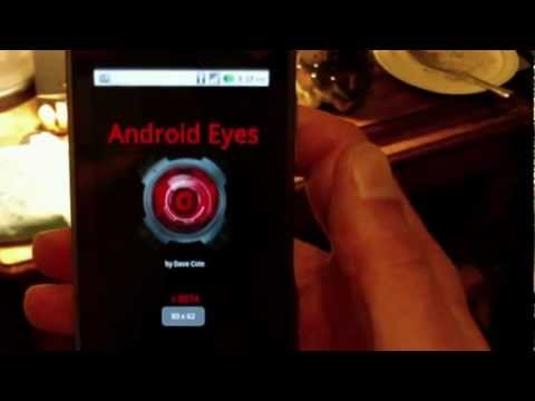 Android Eye Object Recognition App