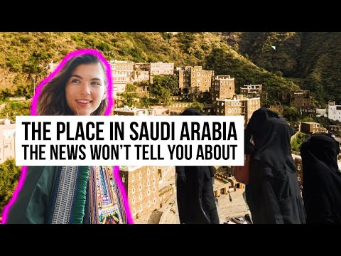 Nobody Talks About THIS Saudi Arabia (FAIRYTALE VILLAGE)