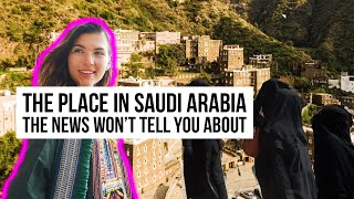 Nobody Talks About THIS Saudi Arabia (FAIRYTALE VILLAGE)