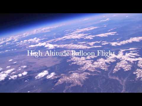 High Altitude Balloon Flight in HD - Near Space Photography