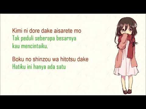 Lagu Jepang Sedih  Kokoronashi   Papiyon Feat  GUMI  Terjemahan Lyrics Indonesia