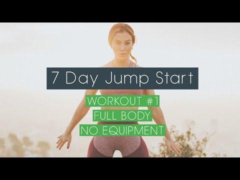 7 Day Jump Start - Workout #1 Full Body