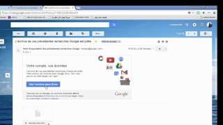 comment acceder à l'historique de vos recheches google  et les  telecharger