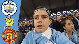 DERBY DAY DEFEAT | MAN CITY 1 MAN UNITED 2 | MATCHDAY 16 | VLOG #95