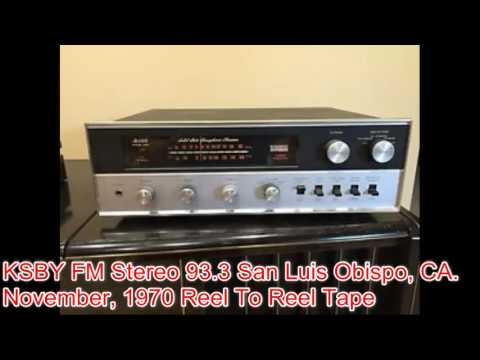 Reel To Reel Tape -  KSBY FM Radio 93 3 (November 1970) (Pt. 3)