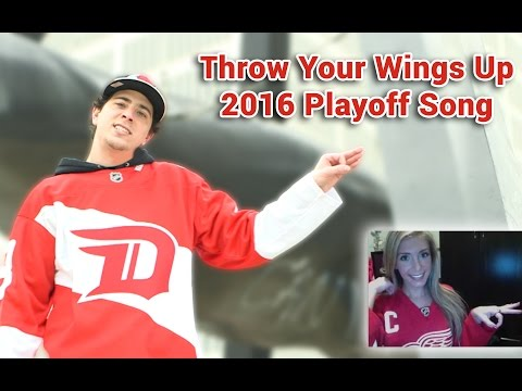 Throw Your Wings up! 2016 (Detroit Red Wings Playoff Song)