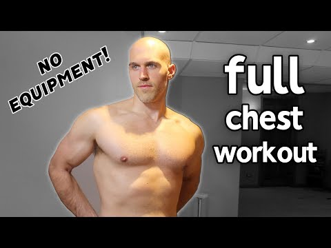 Calisthenics Chest Workout At Home (No Equipment)