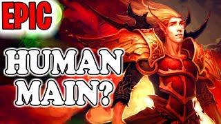 "Grubby | ""Human MAIN?"" | Warcraft 3 | HU vs NE | Concealed Hill"