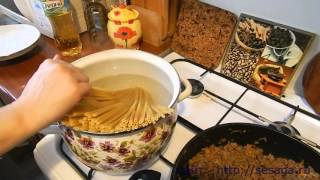 Как приготовить макароны по флотски с фаршем