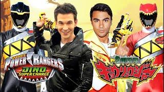 Power Rangers Dino Charge Morph Like Kyoryuger Feat. James Davies And Brennan Mejia